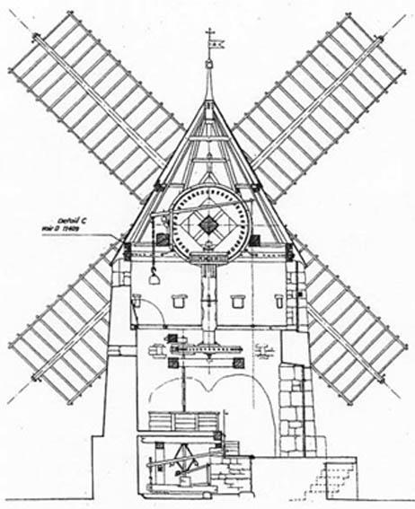 Plan de moulin a vent de jardin en bois design de maison - Moulin a vent en bois a fabriquer ...
