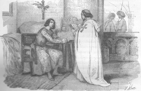 HISTOIRE ABRÉGÉE DE L'ÉGLISE - PAR M. LHOMOND – France - 1818 - DEUXIEME PARTIE ( Images et Cartes) 1250.CaptiviteSaintLouis